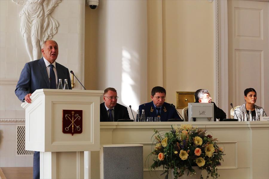 Открытие III Молодежного форума «Многонациональный Петербург-2015: территория национального согласия»