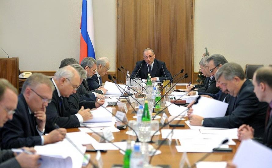 Заседание президиума Совета при Президенте по межнациональным отношениям