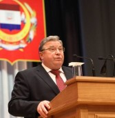 Глава Республики Мордовия В.Д.Волков обратился с ежегодным Посланием к Государственному Собранию РМ