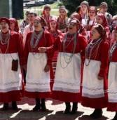 Участники I Всероссийского фестиваля «Предания старины» выступили на улицах Саранска