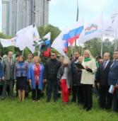 В Москве появилась «Аллея дружбы народов»
