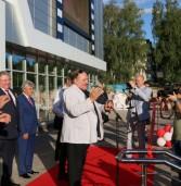 В день кино Жерар Депардье и Глава Мордовии Владимир Волков открыли в Саранске «Россию»