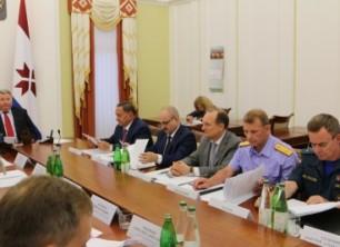В Мордовии состоялось совместное заседание антитеррористической комиссии и оперативного штаба