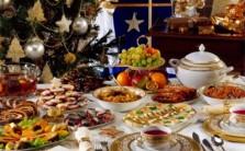 Новогодний стол по-финно-угорски