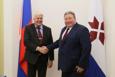 Владимир Волков: «Всестороннему сотрудничеству Мордовии и Финляндии задает тон финно-угорская дружба!»