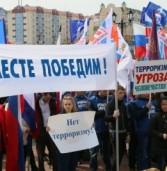 В Саранске прошла массовая акция «Вместе — против террора»