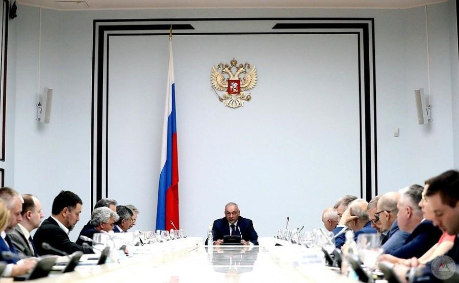 Пётр Тултаев принял участие в заседании президиума Совета при Президенте России по межнациональным отношениям