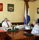 Владимир Волков обсудил развитие эко-туризма с руководителем ФГБУ «Заповедная Мордовия»