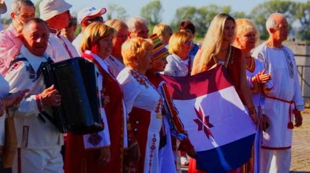 Мордовская диаспора Поволжских регионов встречает участников экспедиции «Волга — река мира»