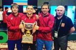 Три борца из Мордовии выиграли международный турнир по греко-римской борьбе