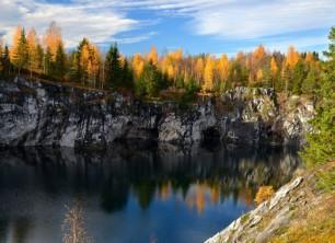 Карелия — край голубых озёр