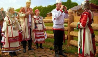 О свадебных традициях народов Поволжья