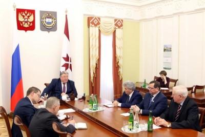 Глава Мордовии Владимир Волков обсудил вопросы развития национальной культуры