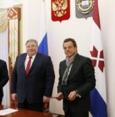 Глава Мордовии Владимир Волков провел рабочую встречу с венгерскими инвесторами