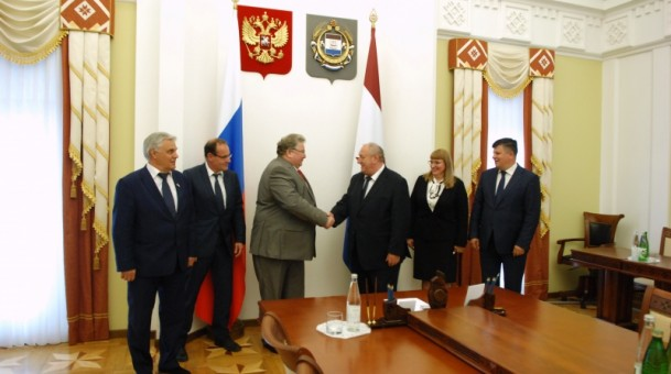 Владимир Волков провёл встречу с парламентариями Ландтага земли Тюрингия (Германия)