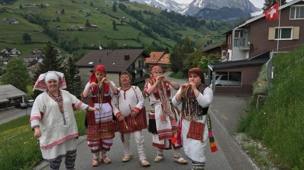 Мордовские песни зазвучали в швейцарских горах