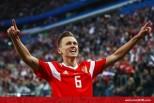 Сборная России обыграла сборную Египта в матче Чемпионата мира по футболу FIFA 2018