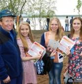 В селе Ловозере Мурманской области открылась уличная фотография «Мелодия саамской жизни»