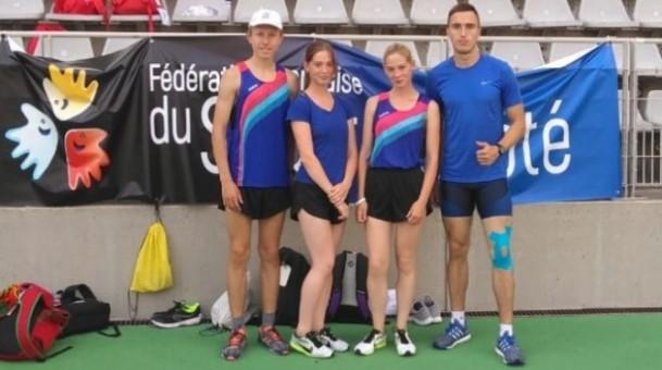 Ходоки Мордовии завоевали три медали в Париже