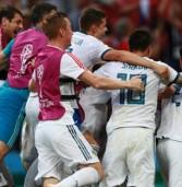 Сборная России по футболу впервые в истории вышла в четвертьфинал ЧМ