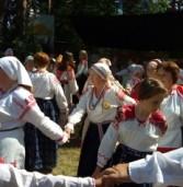 Водский праздник «Лужицкая складчина» отметили в деревне Лужицы Кингисеппского района Ленинградской области