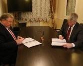 Глава Мордовии Владимир Волков подписал соглашение с Министерством спорта России