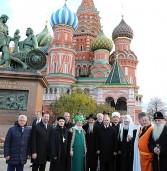 В День народного единства Пётр Тултаев принял участие в торжественных мероприятиях на Красной площади