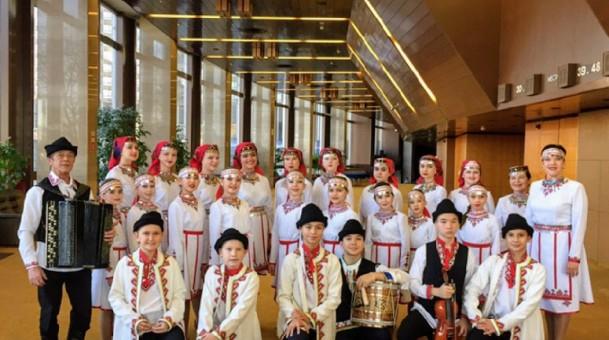 Марийский ансамбль приехал из Москвы с победой