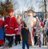 День рождения Карельского Морозца Паккайне отметили с размахом