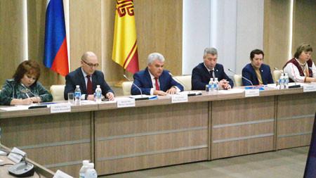 Пётр Тултаев провел заседание Совета Ассоциации финно-угорских народов России в Чебоксарах