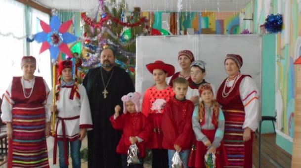 Рождественские традиции мордовского села Дигилевка Пензенской области