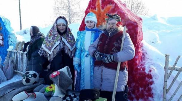 В селе Урусова Ардатовского района Республики Мордовия прошел фестиваль «Урусовский валенок»