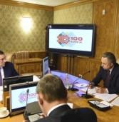 Глава Марий Эл Александр Евстифеев и Виталий Мутко обсудили подготовку к 100-летию Марий Эл