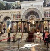 В Санкт-Петербург прибыли мощи святого  Георгия Победаносца