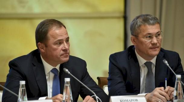 Игорь Комаров в Уфе провёл заседание Совета округа