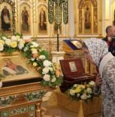 Кафедральному собору Саранска подарили новую святыню
