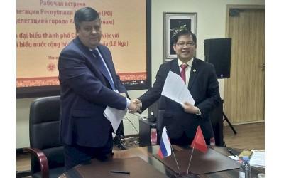 В Москве обсудили перспективы сотрудничества Вьетнама и Мордовии