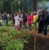 В Ижеске в саду дружбы народов появился национальный символ Марий Эл
